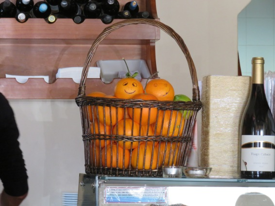 This basket was sitting on the counter!