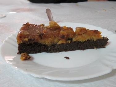 Throw carob, figs, almonds and honey at Marc and smiles, smiles, smiles!
