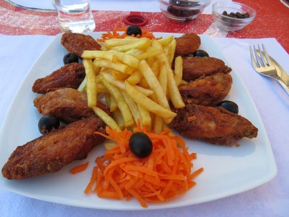 asinhas de frango...chicken wings