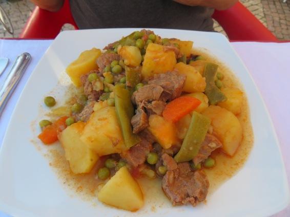 jardineira de vitela...veal stew