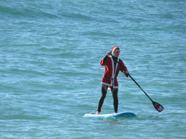 Santa Surfers