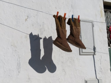 Boots and shadow......by Renoir!
