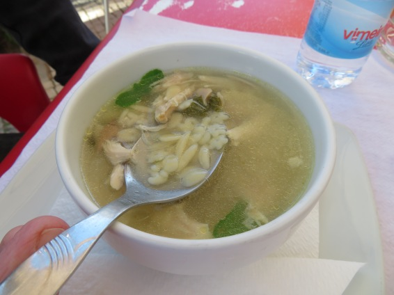 Canja (chicken soup) Marc