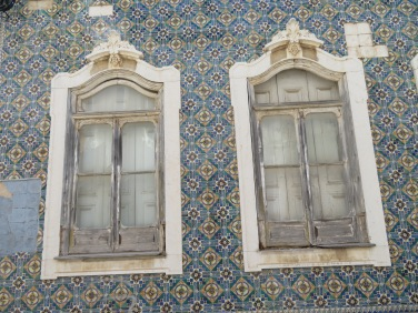 Tiles everywhere, such different styles and colours,