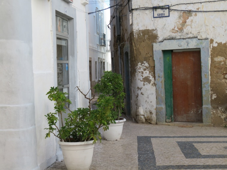 Tiny winding streets, always a splash of colour and a corner to peep around