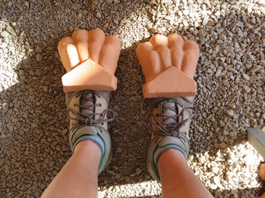 My hiking boots are killing me......might need to see a Dr.