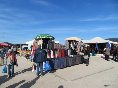A clothing vendor