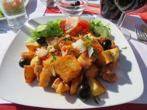 Carne de porco portuguesa