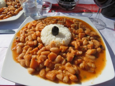Cuttlefish and beans