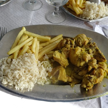 A wonderful curried chicken for Marc.