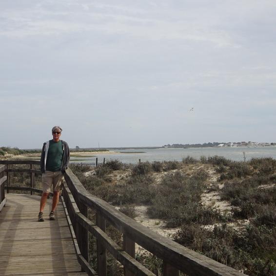 Me on the boardwalk