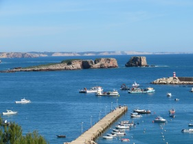 The view over the Sagres harbour.
