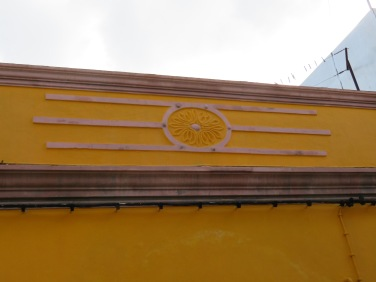 I liked this decoration above a village house doorway.