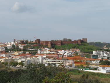 The castle above the village of Silves
