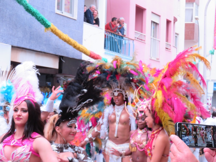 Feather and dancers