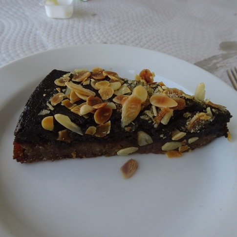 The Algarvian dessert of figs, carob and almonds.....a favourite for many