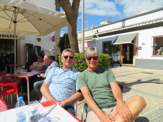 The boys, happy as always....delighted with our lifestyle in Portugal