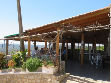 Another shot of the patio......the views take your breath away....in every direction.