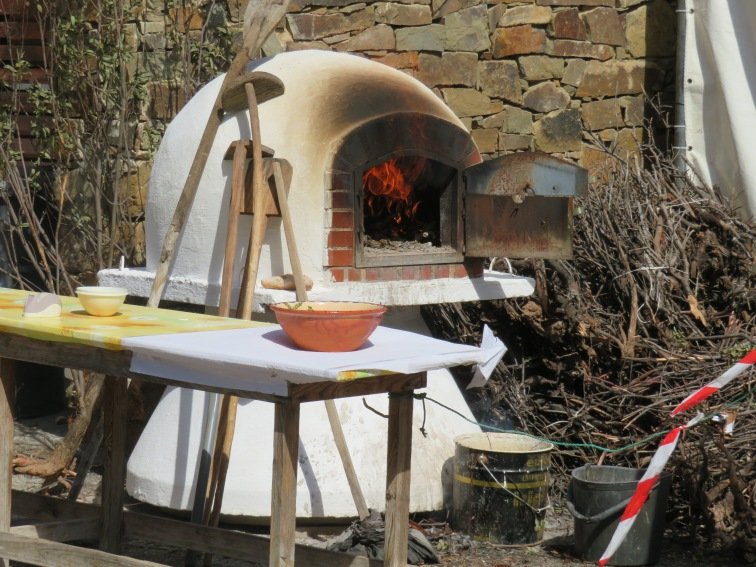 The village oven.