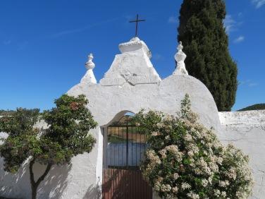 Near the church