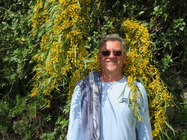 Marc in the mimosa......sounds like a novel!!
