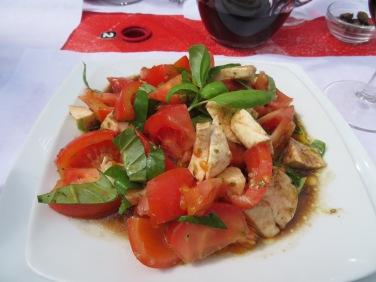 My Caprese Salad.