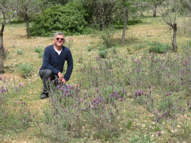 Marc and the Lavender.....they both smell lovely!!!!
