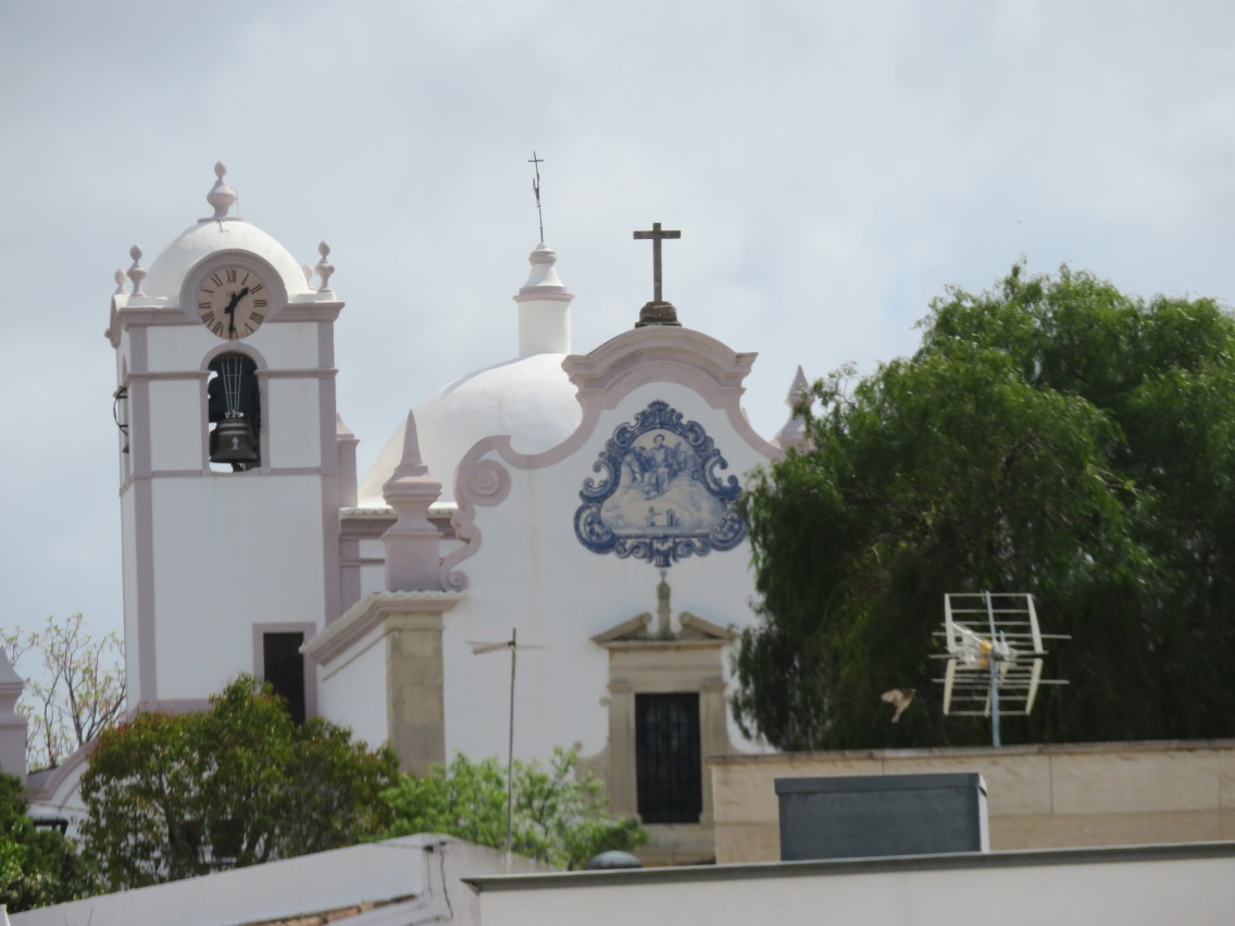 The church from the cemetery point of view