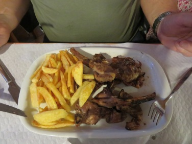 Lamb chops for Gary