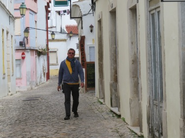 Marc enjoying a stroll.