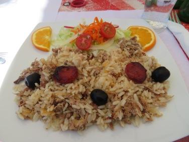 Wonderful arroz de pato.....duck rice.....oh so tasty.