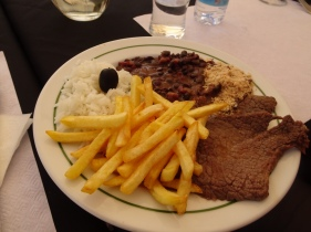 Simon's fabulous brazilian beef and bean dish.