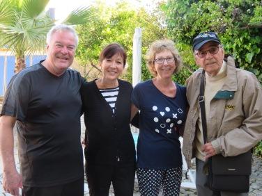 Jean, Diane (cousins), Louise et Benoit.