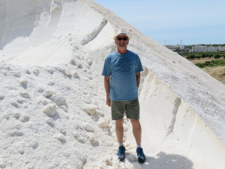 This enormous pile of sea salt always manages to captivate us despite seeing it year after year.