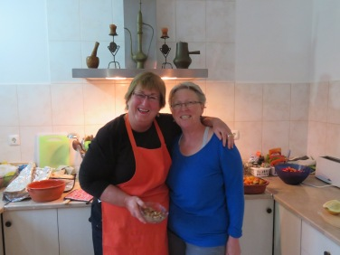 And speaking of old friends......the two Patricia Anne's!