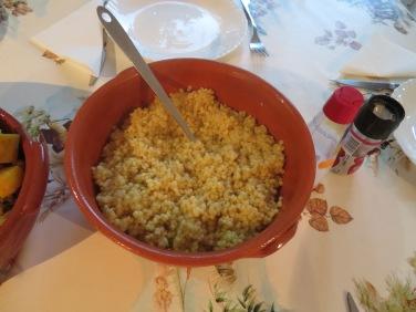 Portuguese couscous