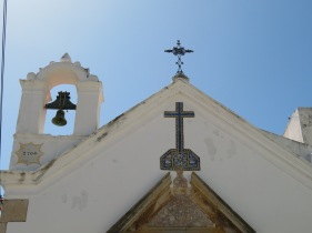 The chaple at the museum in Moncarapacho