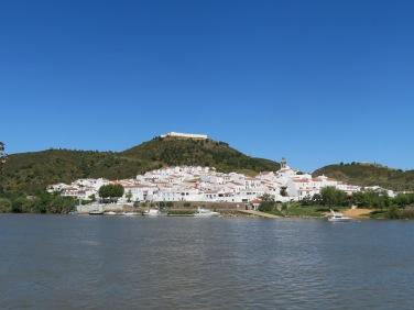 Spain, across the river.