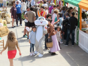 The Easter Bunny AND the Grandma!!
