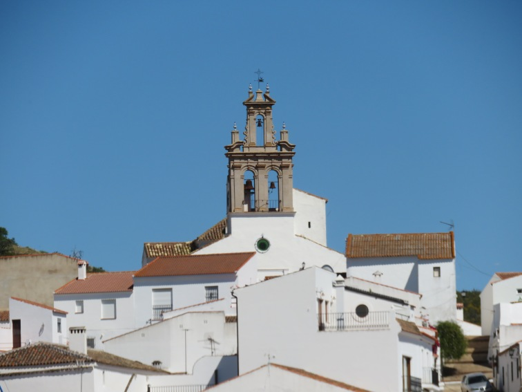 The church steeple in Spain.
