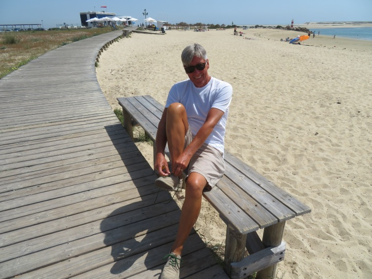Taking my shoes off to enjoy a lovely walk in the sand......exfoiliate those feet!!!!