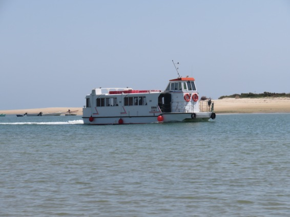 The Fuzeta ferry has started early this year due to demand