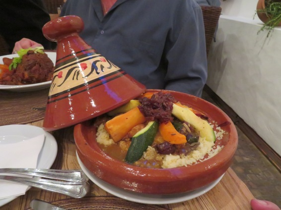 Marc's chicken tajine.