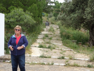 We stopped to wander around the property of an old church at the top of Sao Miquel,