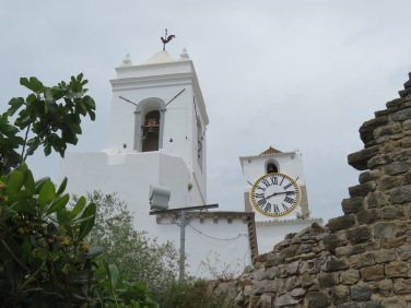 A view of the old church from the castelo gardens.