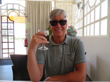 Me and my vino........a mutually loving relationship!