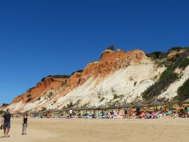 Despite the intense heat, it wasn't that crowded