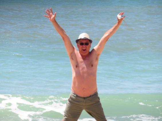 Celebrating sunshine, sea and sand.