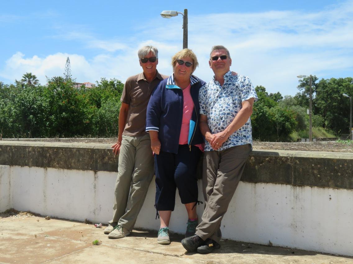 Our last selfie in the Algarve.