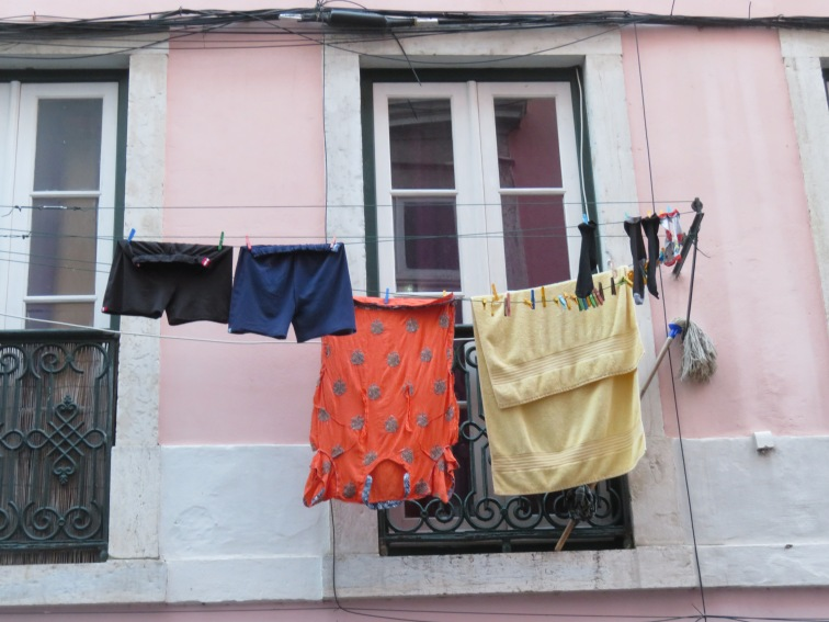 I love the clotheslines